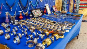 Traditional jewelry very beautiful in morroco. Traditional jewelry very beautiful , Traditional jewelry from Tinghir city royalty free stock photography