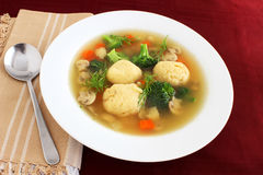 Matzo ball soup Royalty Free Stock Photos