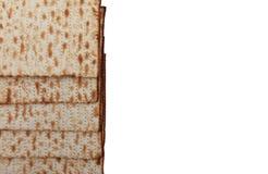 Traditional Jewish holiday food Passover matzo Royalty Free Stock Photos