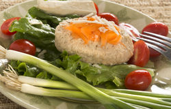 Traditional Jewish Passover dish Gefilte Fish Royalty Free Stock Photo