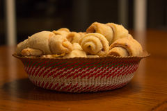 Traditional Jewish Pastry Rugelach Royalty Free Stock Photography
