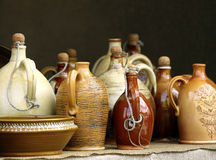 Traditional jugs Royalty Free Stock Image