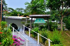 Traditional 'kampong' village mosque Singapore Stock Images