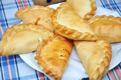 Traditional karaite pasty Stock Photo