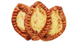 Traditional karelian pasties from Finland Royalty Free Stock Photos