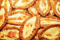 Traditional karelian pasties from Finland Stock Photo