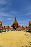 Traditional Khmer architecture in Cambodias Phnom  Stock Images