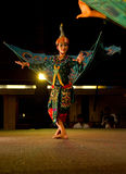 Traditional Khmer dance depicting half bird/human Stock Photography