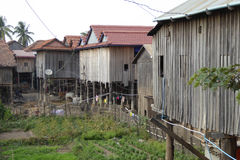 Traditional Khmer house Stock Photo