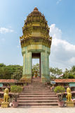Traditional Khmer temple in Siem Reap, Cambodia Stock Images
