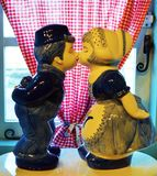 Traditional Kiss Image, Holland Stock Image