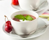 Free Traditional Kissel Served As Dessert In A Bowl Royalty Free Stock Images - 107001289