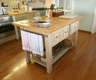 Traditional kitchen stock photos
