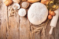 Traditional kitchen ingredients Royalty Free Stock Image
