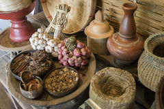 Traditional kitchen thai style Royalty Free Stock Photo