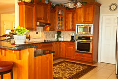 Traditional Kitchen Royalty Free Stock Photos