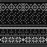 Traditional knitting pattern for Ugly Sweater Royalty Free Stock Images