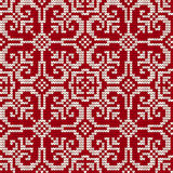 Traditional knitting pattern for Ugly Sweater Royalty Free Stock Photo