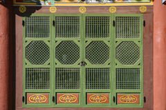 Traditional korea building Stock Image