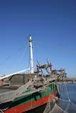 Traditional Korea - shrimp boat Royalty Free Stock Image