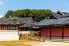 Traditional korean architecture Royalty Free Stock Images