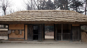 Traditional Korean building Royalty Free Stock Image