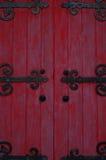 Traditional Korean Door Stock Image