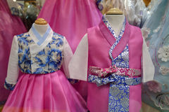 Traditional korean dress Royalty Free Stock Images