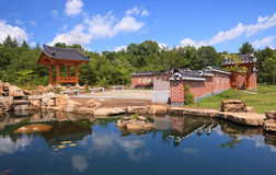 Traditional Korean Garden Imchon Stock Photos