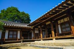 Traditional korean house Royalty Free Stock Photo