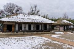Traditional Korean house Stock Photo