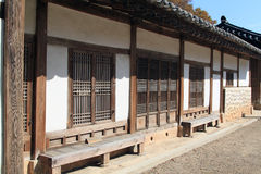 Traditional Korean House Stock Photo