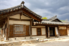 Traditional Korean House Royalty Free Stock Photography