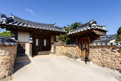 Traditional Korean House , South Korea Stock Photography