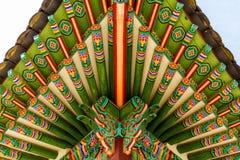 Traditional korean paintwork Stock Photo