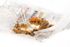 Traditional kueh radish Stock Image