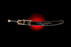 Traditional kung fu sword Royalty Free Stock Images