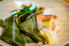 Traditional Kyoto style sushi Royalty Free Stock Image