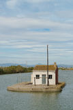 Traditional La Albufera architecture Royalty Free Stock Photos