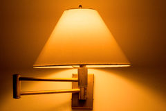 Traditional lamp on the wall Royalty Free Stock Photography