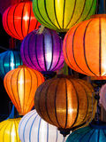 Traditional Lamps in Hoi An, Vietnam Royalty Free Stock Photo