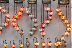 Traditional lamps Stock Images