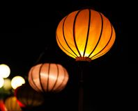 Traditional lamps in Old Town Hoi An, Vietnam Royalty Free Stock Photo