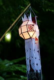 Traditional Lantern at Wat Saket compound. Stock Image