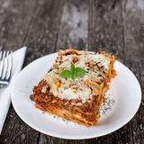 Traditional lasagna Royalty Free Stock Images