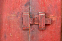 Traditional Latch Door Royalty Free Stock Photography