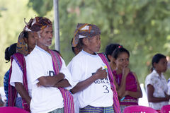 Traditional leaders in East Timor Royalty Free Stock Images