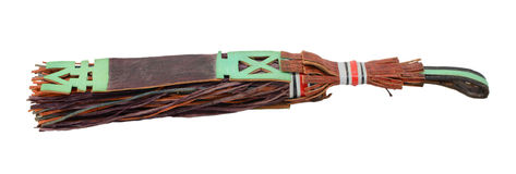 Traditional leather tassel used by Tuaregs in Mali Stock Photo