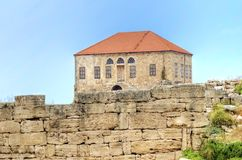 Traditional Lebanese house, Byblos Royalty Free Stock Images