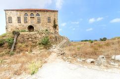Traditional Lebanese house, Byblos Royalty Free Stock Photo